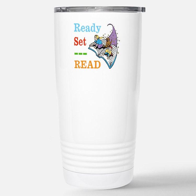 Ready Set Read Travel Mug