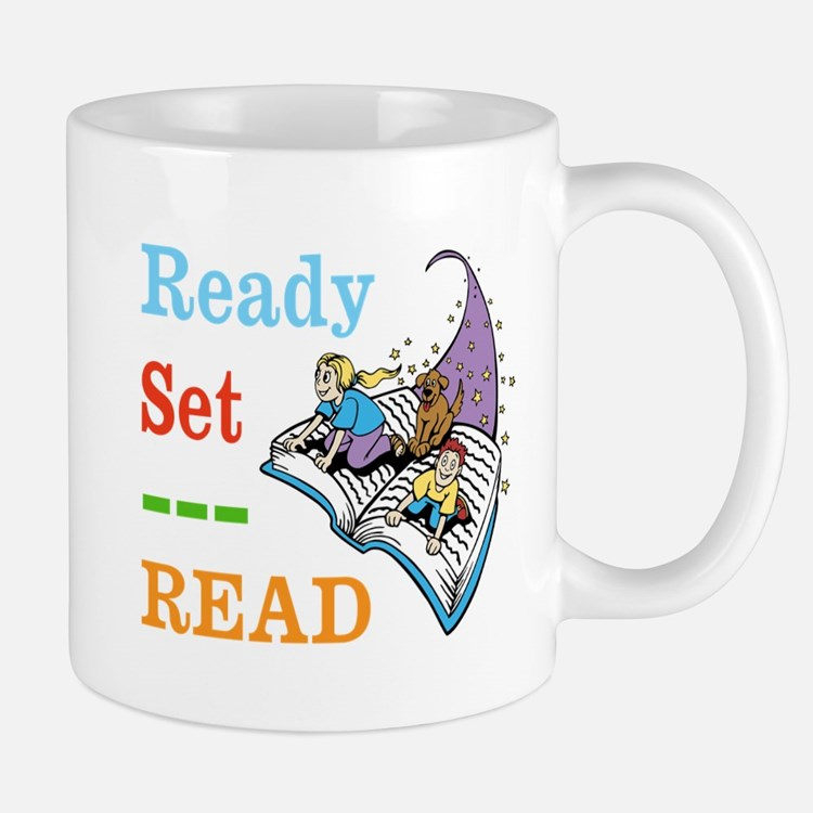 Ready Set Read Mugs