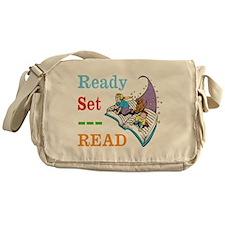 Ready Set Read Messenger Bag
