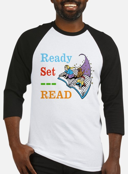 Ready Set Read Baseball Jersey