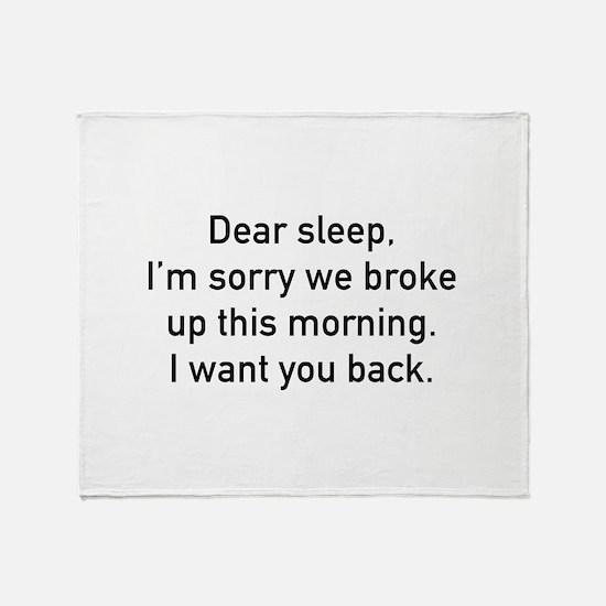 Dear Sleep Stadium Blanket