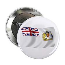 """British Antarctic Flag 2.25"""" Button (100 pack)"""