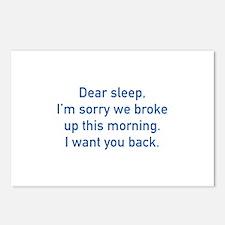 Dear Sleep Postcards (Package of 8)