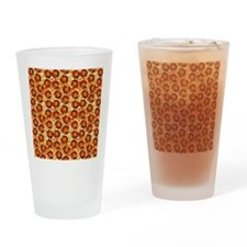 Pepperoni Pizza Drinking Glass