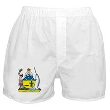 Nunavut Coat of Arms Boxer Shorts