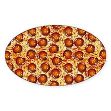 Pepperoni Pizza Bumper Stickers