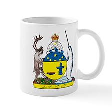 Nunavut Coat of Arms Mug