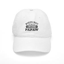 World's Most Awesome Papaw Baseball Cap
