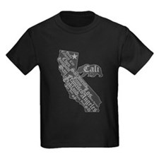 California State Bear (distressed look) T-Shirt