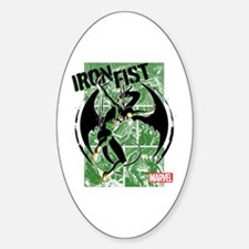 Iron Fist Green Panels Decal