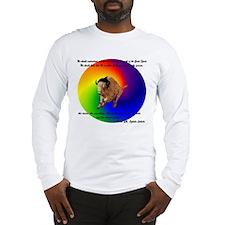 """Black Elk Message"" Long Sleeve T-Shirt"