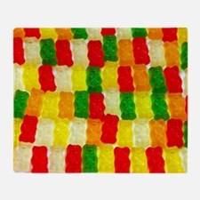 Cool Gummy bears Throw Blanket
