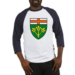 Ontario Coat of Arms Baseball Jersey