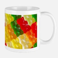 Colorful rows of gummi bears Mugs