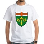 Ontario Coat of Arms White T-Shirt