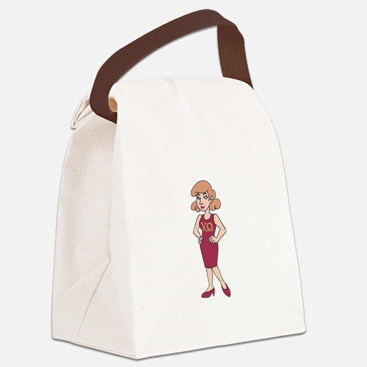 SORORITY SISTER Canvas Lunch Bag