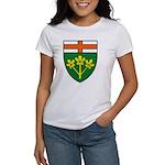 Ontario Coat of Arms Women's T-Shirt
