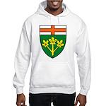 Ontario Coat of Arms Hooded Sweatshirt