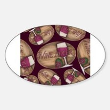 Wine Lover Wood Board Decal