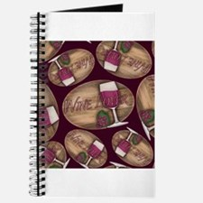 Wine Lover Wood Board Journal