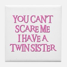 TWIN SISTER Tile Coaster