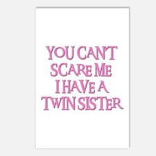 TWIN SISTER Postcards (Package of 8)