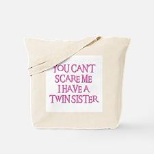 TWIN SISTER Tote Bag
