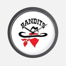 BANDITS Wall Clock