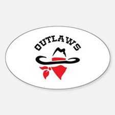 OUTLAWS Decal