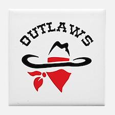 OUTLAWS Tile Coaster