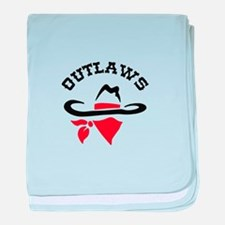 OUTLAWS baby blanket