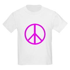 Peace Pink T-Shirt