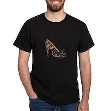 LEOPARD PRINT SHOE T-Shirt