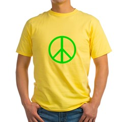 Peace Lime T
