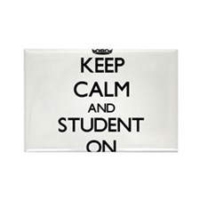 Keep Calm and Student ON Magnets