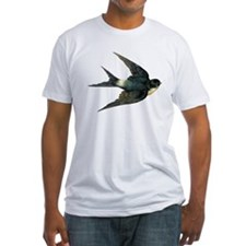 Vintage Swallow Bird Art T-Shirt