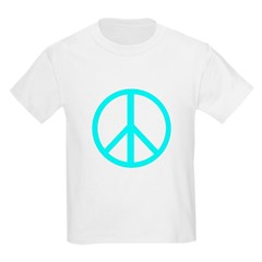 Peace Aqua T-Shirt