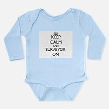 Keep Calm and Surveyor ON Body Suit