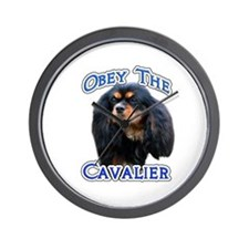 Obey Cavalier Wall Clock