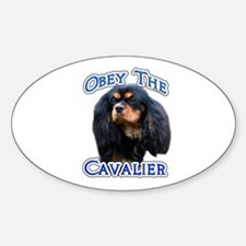 Obey Cavalier Oval Decal