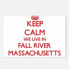 Keep calm we live in Fall Postcards (Package of 8)