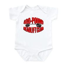 400-POUND DEADLIFT Infant Bodysuit