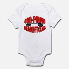400-POUND DEADLIFT Infant Bodysuit