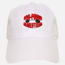 400-POUND DEADLIFT Baseball Baseball Cap