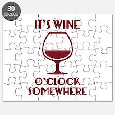It's Wine O'Clock Somewhere Puzzle