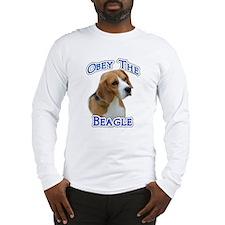 Obey Beagle Long Sleeve T-Shirt