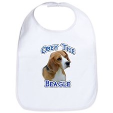 Obey Beagle Bib