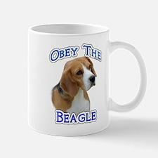 Obey Beagle Mug