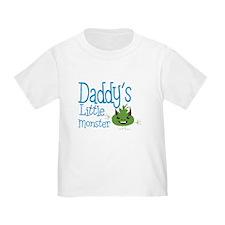 Daddy's Little Monster T-Shirt