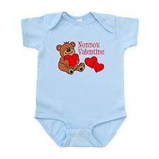 Nonno's Valentine Cartoon Bear Body Suit